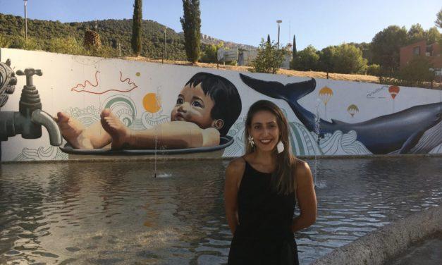 Ana Corazón y el graffiti como arte urbano